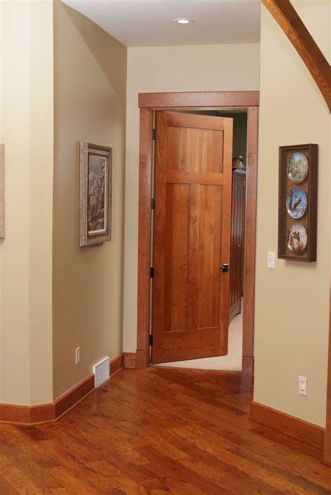 Style Doors by American Cherry 3 Panel Shaker Style Interior Door With