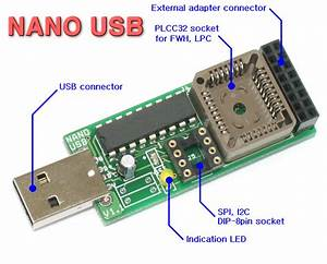 Nano Usb Programmer For Pc M  B Bios Repairing With Economic Shipping