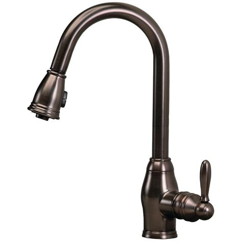 Kitchen Faucets by Pegasus Newbury Single Handle Pull Sprayer Kitchen
