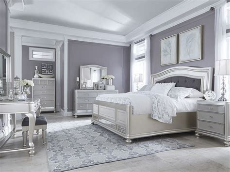 Deals On Bedroom Sets by Check Out The Deal On Coralayne Silver King Bedroom Set At