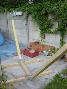 Structure Pour Hamac : comment fabriquer son support hamac en bois la maison du sart id es pour la maison ~ Teatrodelosmanantiales.com Idées de Décoration