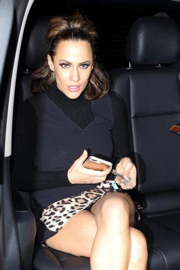 caroline flack upskirt black panties flash scandal