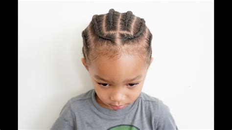 Toddler Braids On Coarse Boy Hair