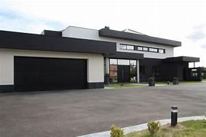 porte de garage sectionnelle 60mm extra isolante smf With porte de garage noir