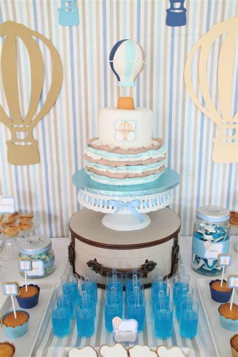 Hot Air Balloon Themed Second Birthday Party Ideas Decor