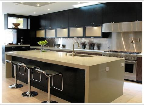 plan cuisine ouverte cuisine plan de cuisine ouverte fonctionnalies moderne