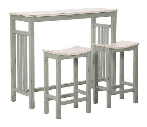 sgabelli bar legno set bar shabby chic con tavolino alto e sgabelli in legno