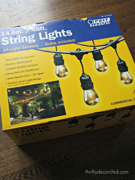25 best ideas about backyard string lights on