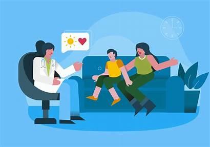 Mental Health Medical Illustration Vector Checkup Clipart