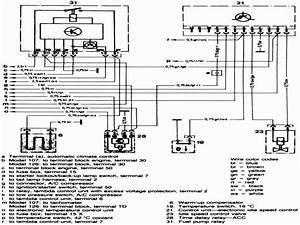 Mercedes 380sl Climate Control Diagram