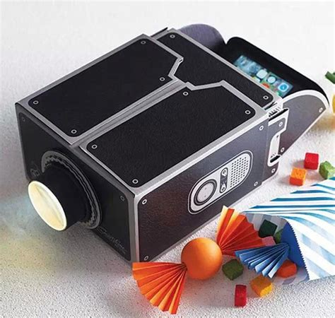 diy iphone projector diy cardboard smartphone projector for iphone android