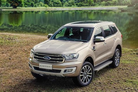 Ford Everest by 2019 Ford Everest Endeavour Launched In Thailand Autobics