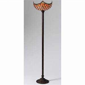 Warehouse of tiffanyr royal torchiere floor lamp 224713 for Torchiere floor lamp 500w