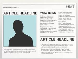 10 best images of google docs newspaper article template With google documents newspaper template