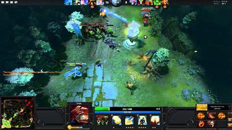 dota 2 sven gameplay dota 2 gameplay commentary sven the rogue youtube