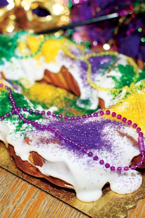 mardi gras king cake dessert recipe food  licious