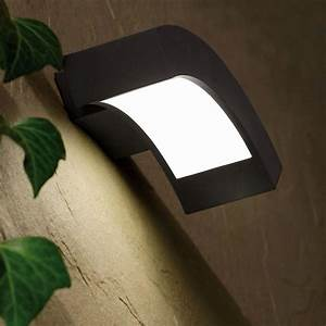 Applique Murale Exterieur Led : applique led design alu gris pour l 39 ext rieur en vente ~ Dailycaller-alerts.com Idées de Décoration