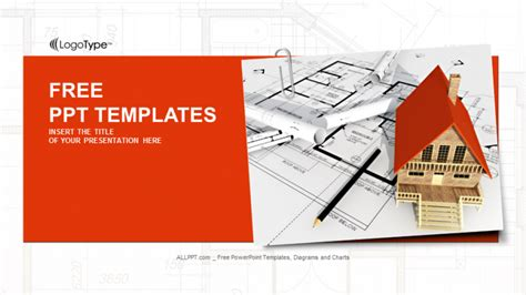house building project real estate powerpoint templates