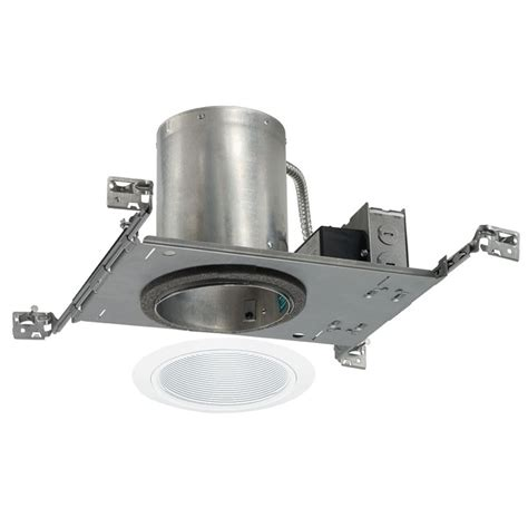 led recessed lighting kit 5 inch recessed led lighting kit with white trim ic20led