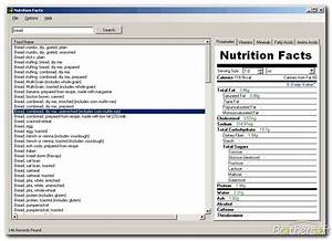 nutrition facts table template - nutrition facts template doliquid