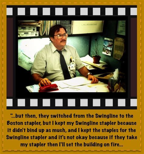 Office Space | Epic Movie Quotes | Pinterest | Office ...
