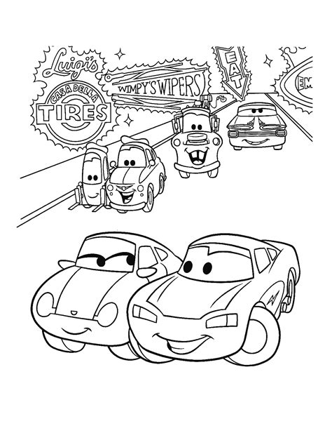Kleurplaten Cars 2 by Cars 2 Ramone Coloring Book Coloring Page
