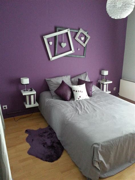 decoration chambre adulte grise best chambre dados bleue et mauve ideas design