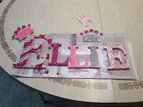 wooden letters  walmart  spray paint    white painted edges pink