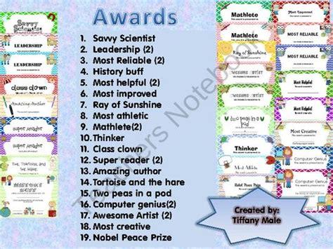 56 best end of the year awards images on 749 | 9dd875b1797f4bba8015a361f224efa5 kindergarten checklist classroom secrets