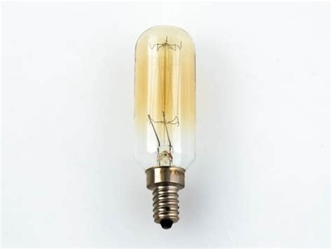 t9 light bulb satco 40w 120v t9 vintage decorative bulb e12 base 40t9