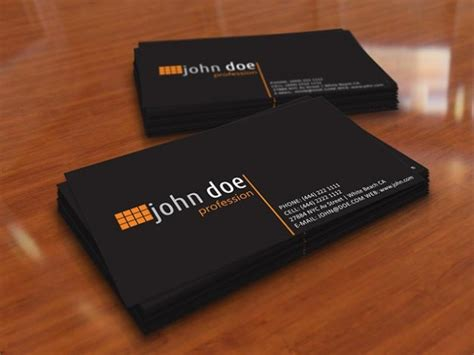 Personal Business Card In Black Color Vector Business Model Canvas Xtensio Plans Website Diagram Guide Generation Pdf Plan Templates Keynote Editable Template Human Resources Section Example