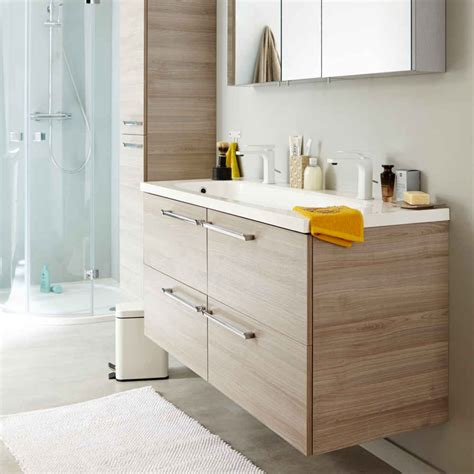 meuble salle de bain brico depot meuble de salle de bain de brico d 233 p 244 t notre test salle de bain