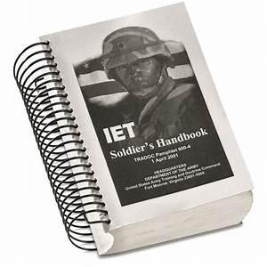 U S  Army Surplus Initial Entry Training Manual  New