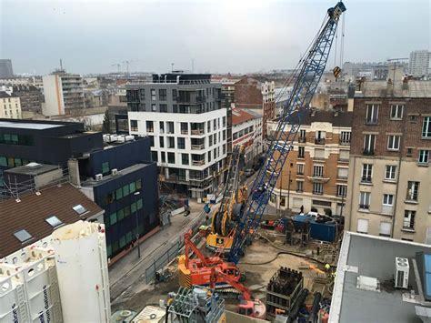 des ouvrages annexes du prolongement de la ligne 14 du m 233 tro parisien sortent de terre chantiers