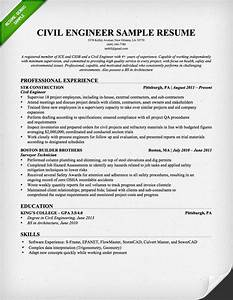 civil engineering resume sample resume genius With civil engineering resume examples