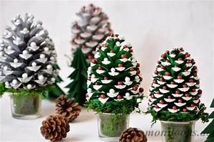 Basteln Kindern Weihnachten Tannenzapfen : diy weihnachtsdeko basteln mit tannenzapfen ~ Whattoseeinmadrid.com Haus und Dekorationen