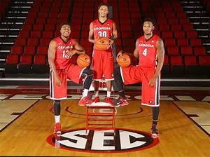 Photos of 2015 UGA men's basketball team