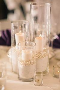 best 25 candle centerpieces ideas on pinterest wedding With kitchen colors with white cabinets with cheap candle holders for centerpieces