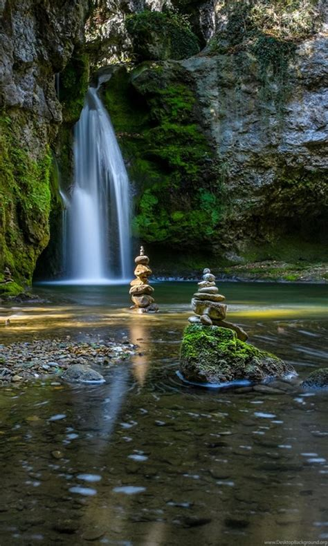 zen hd wallpapers garden 4k waterfalls background desktop waterfall nature portrait iphone scenery amazing places backiee