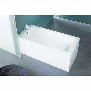 Fond De Baignoire : baignoire fond plat en acier maill cayono kaldewei ~ Melissatoandfro.com Idées de Décoration
