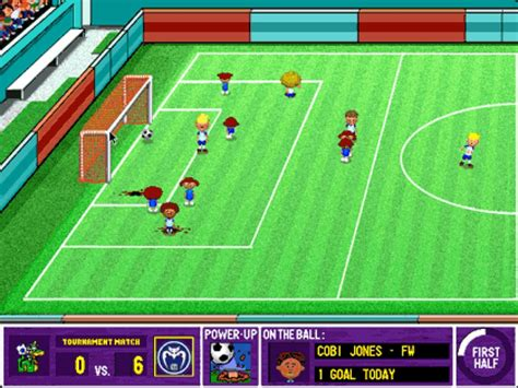 Backyard Soccer Screenshots  Hooked Gamers