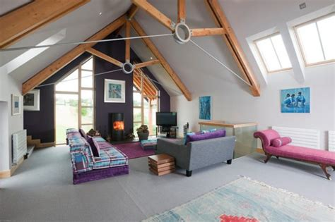 interesting mezzanine living room designs