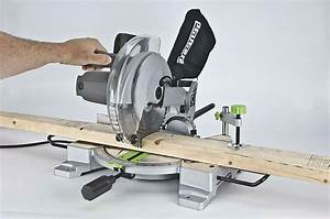Compound Miter Saw With Laser Guide 15