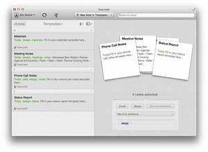 create evernote 5 template notebooks with applescript With how to create a template in evernote