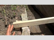 Reinforcing A Wooden Retaining WallEXTRA Support YouTube