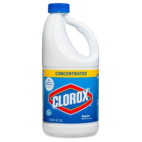Clorox Regularbleach Concentrated  Liquid Solution 64