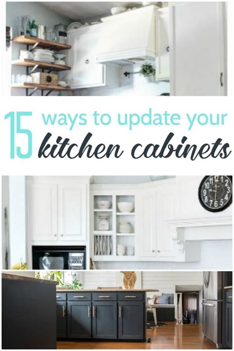 ways to update kitchen cabinets 15 amazing ways to redo kitchen cabinets lovely etc 8927