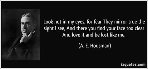 Look Fear In The Eyes Quotes