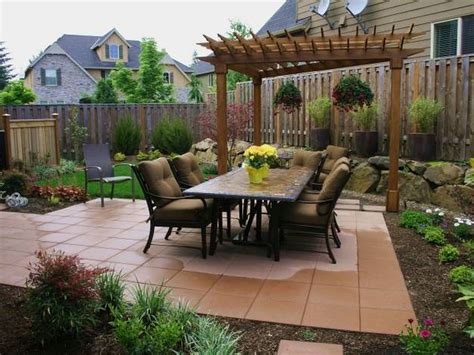 patio landscape designs small backyard landscaping ideas on a budget the garden pictures of best roomaloocom full size