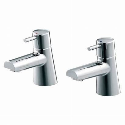 Taps Bath Pillar Bathroom Ideal Standard Cone